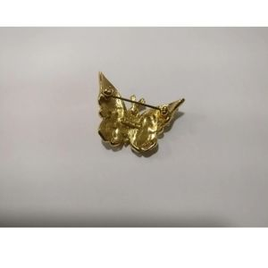 D'ORLAN Jewelry - 🇨🇦 D'ORLAN 22k gold plated butterfly brooch